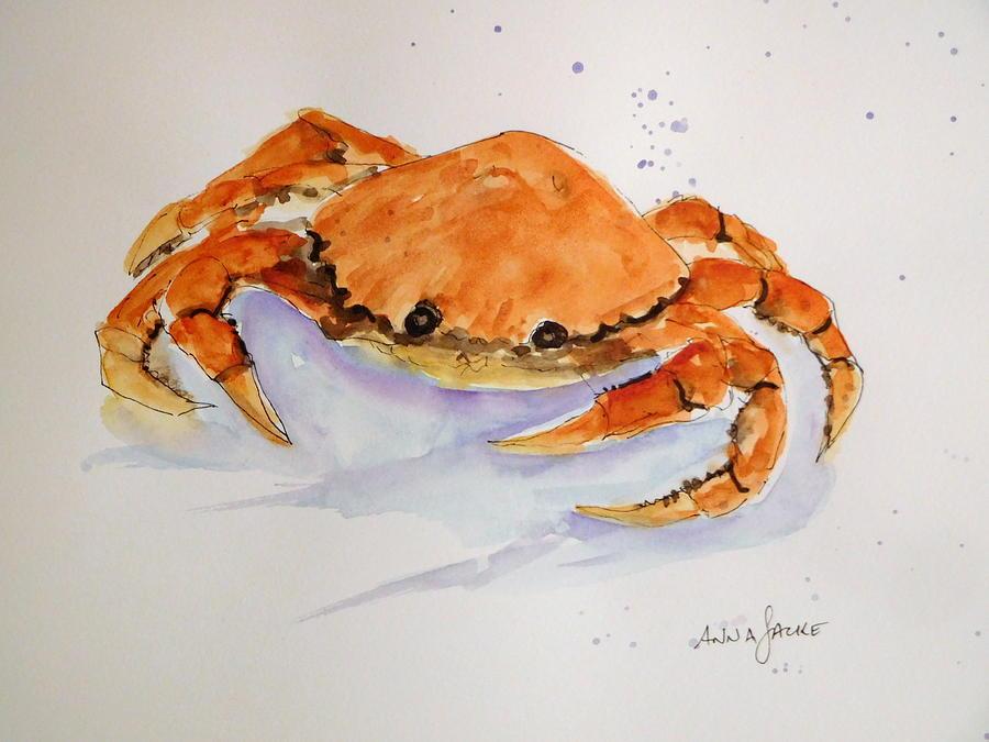 I'm Crabby by Anna Jacke