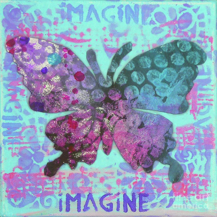 Imagine Butterfly 2 by Lisa Crisman