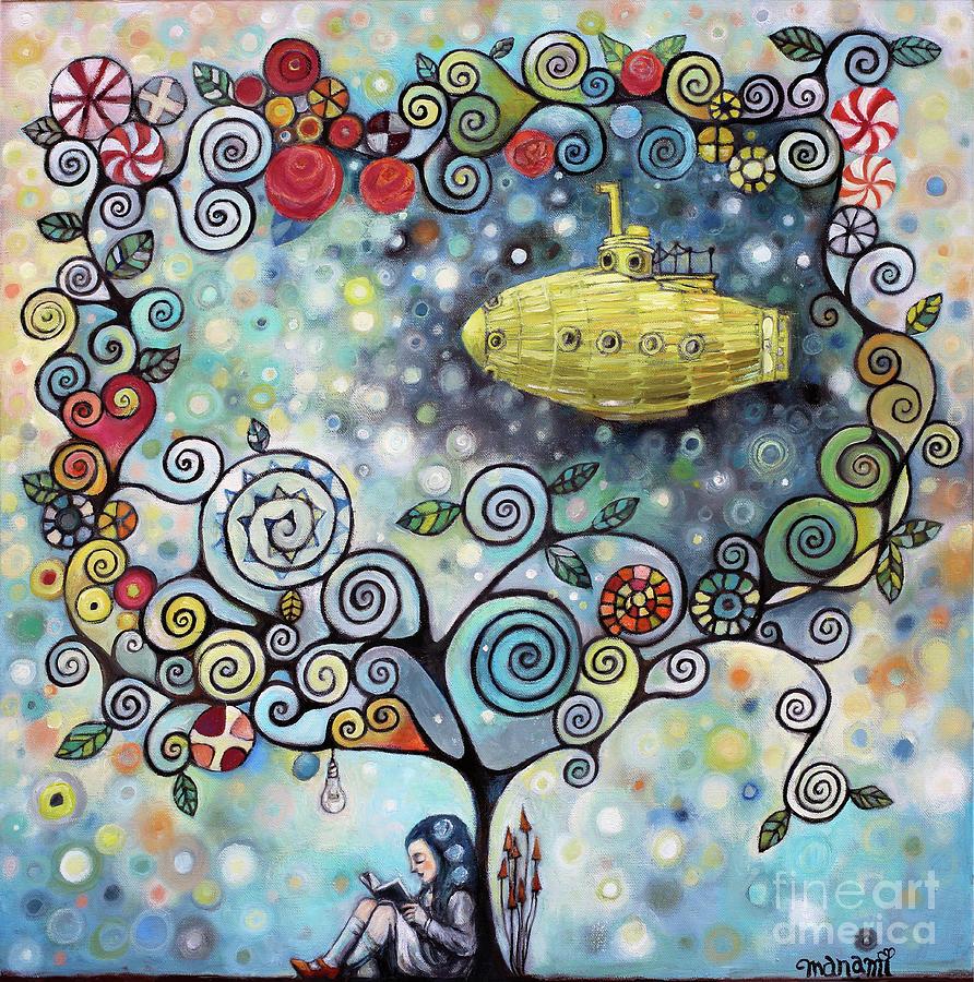 Imagine Yellow Submarine by Manami Lingerfelt
