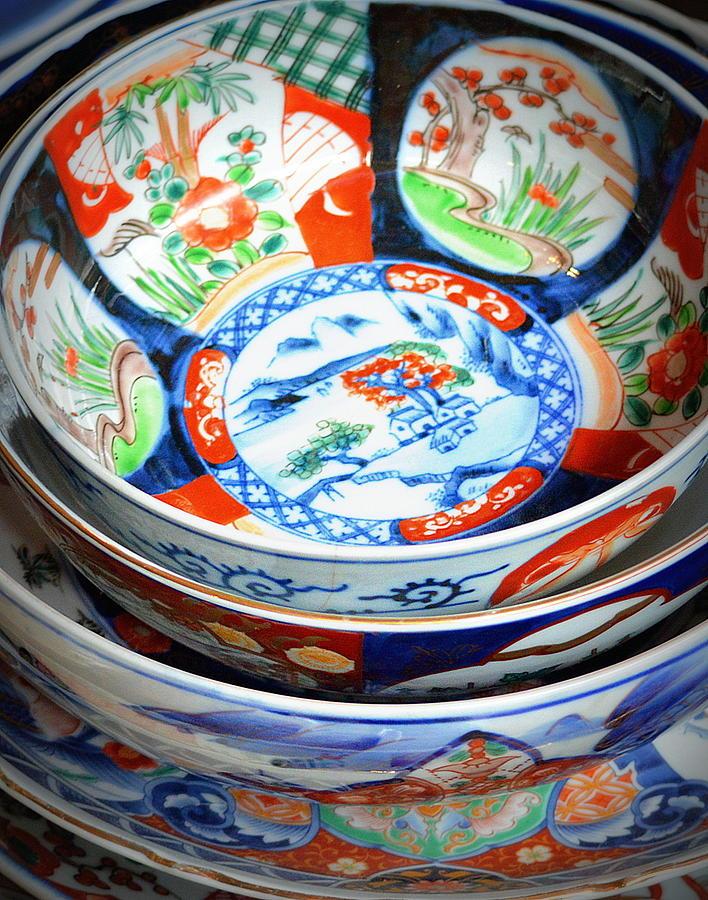 Imari Bowls by Kimberly-Ann Talbert