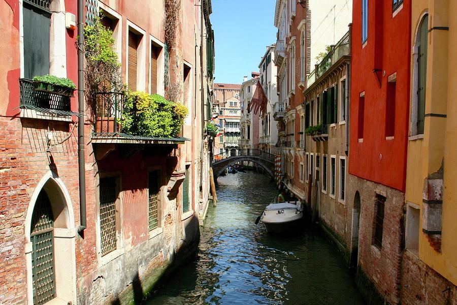 Venetian Canal by Joy Buckels