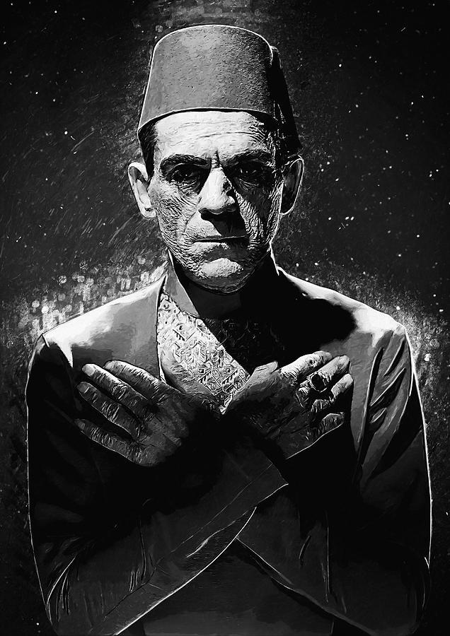 Imhotep Digital Art - Imhotep - The Mummy by Zapista Zapista