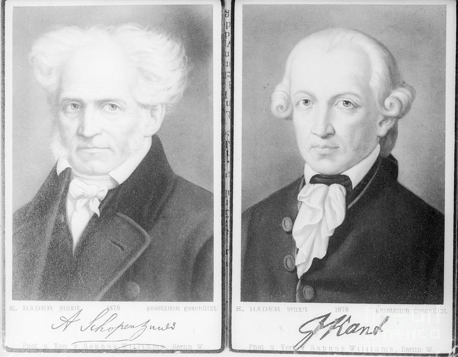 Immanuel Kant, German Philosopher Photograph by Bettmann