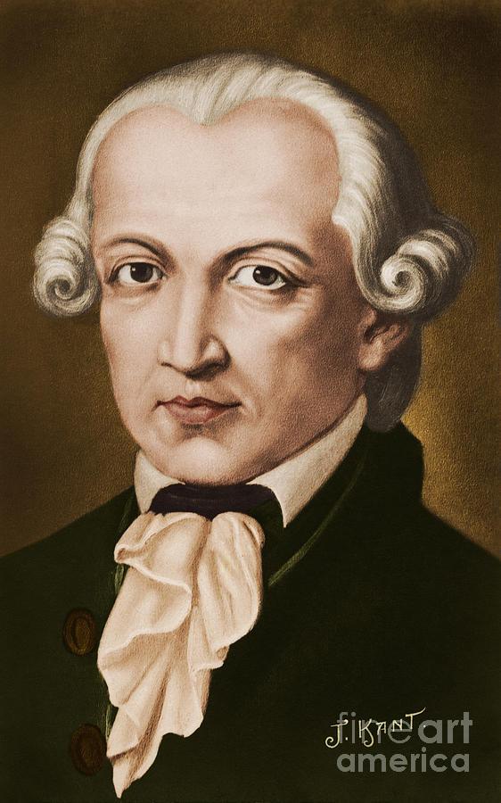 Kant Painting - Immanuel Kant, Philosopher, Born In Konigsberg, Germany by German School