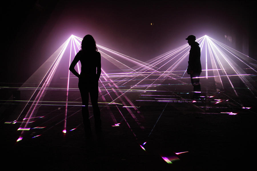 Immersive Light Installation Unveiled Photograph by Peter Macdiarmid