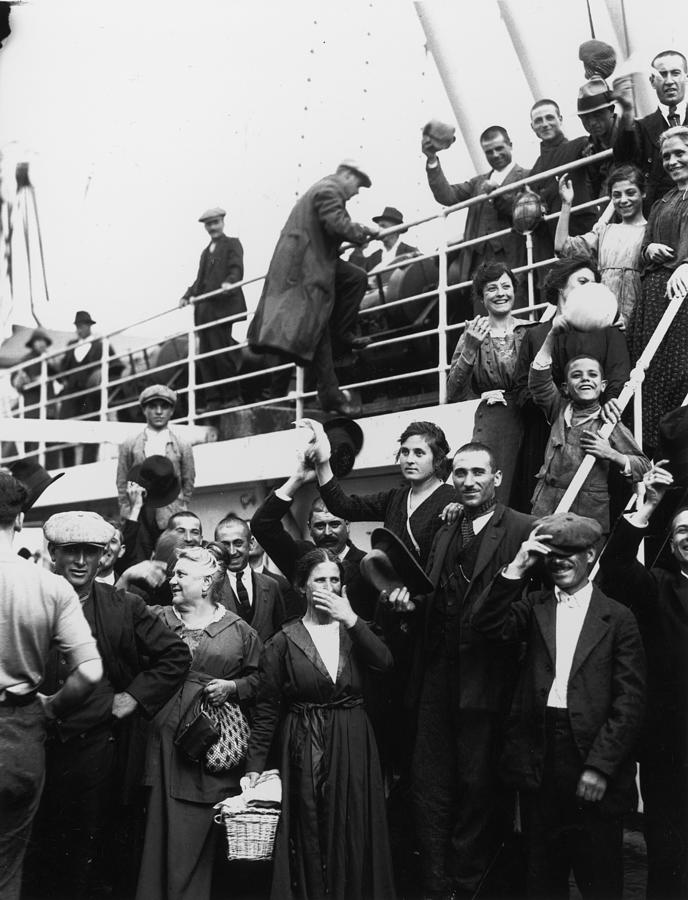Immigrants Photograph by Fotosearch
