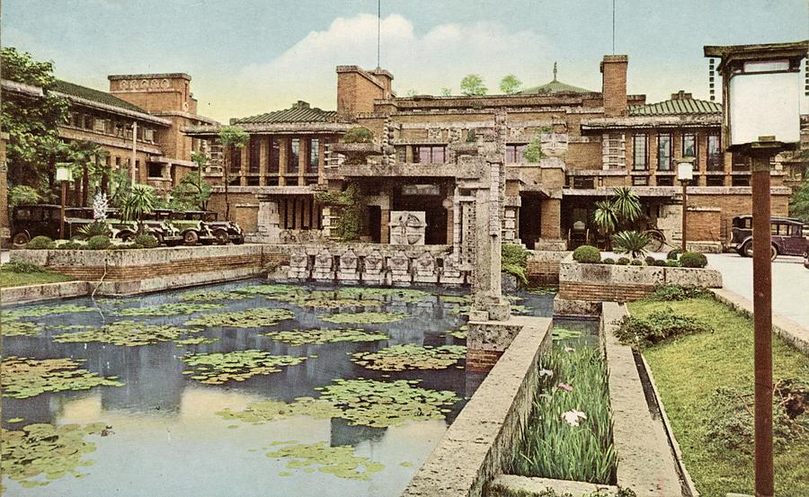 Imperial Hotel Tokyo Photograph by Hulton Archive