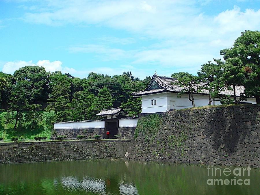 Imperial Palace Sakurada-Mon Gate by Yvonne Johnstone