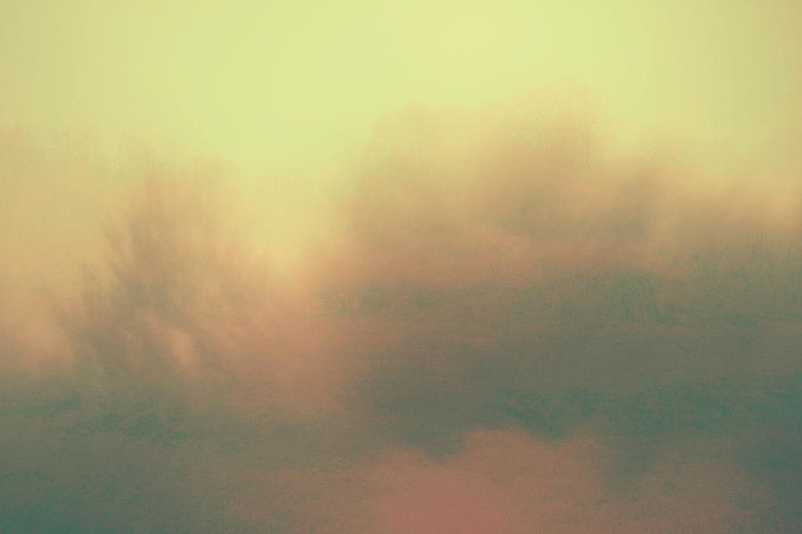 Impression Art Yellow Landscape Photograph