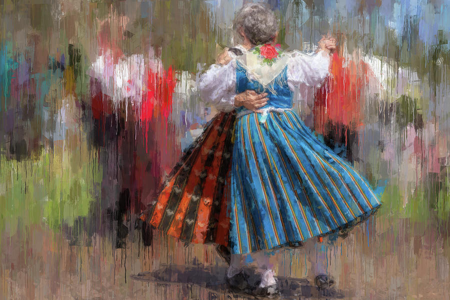 Impressionistic Finnish Heritage Period Dancing. by Manny DaCunha