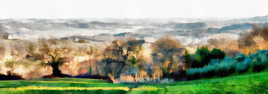 Impressions of Early Morning in Umbria by Dorothy Berry-Lound