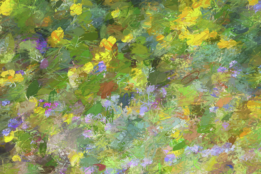 Impressions of Golden Poppies by Peter Tellone