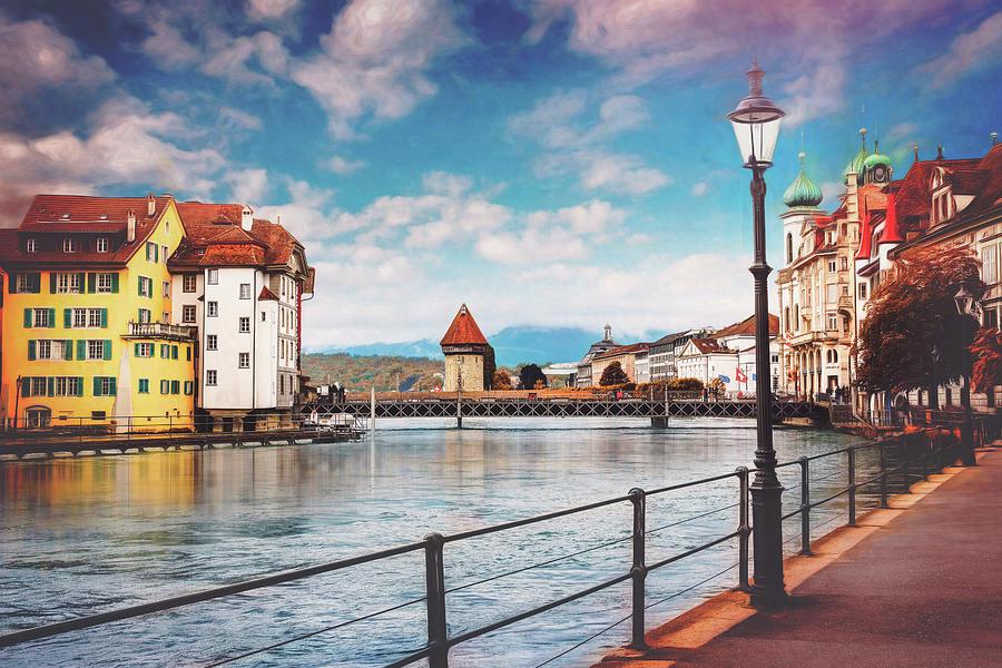 Impressions Of Lucerne Switzerland Photograph