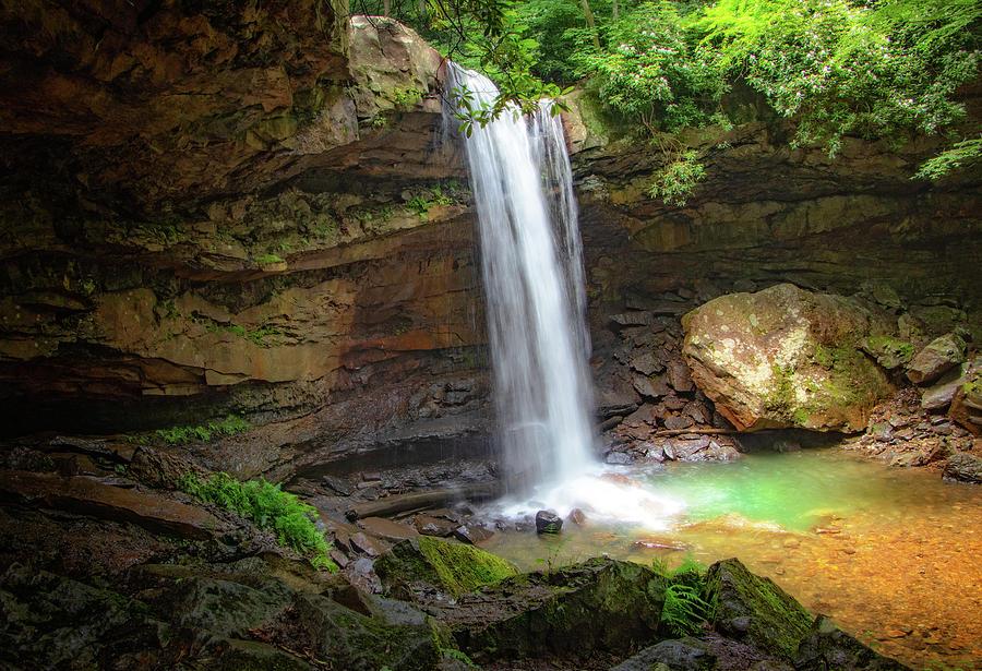 Impressive Cucumber Falls  by Carolyn Derstine