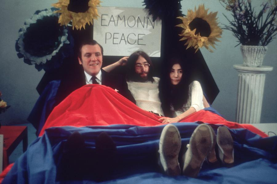 In Bed For Peace Photograph by Keystone