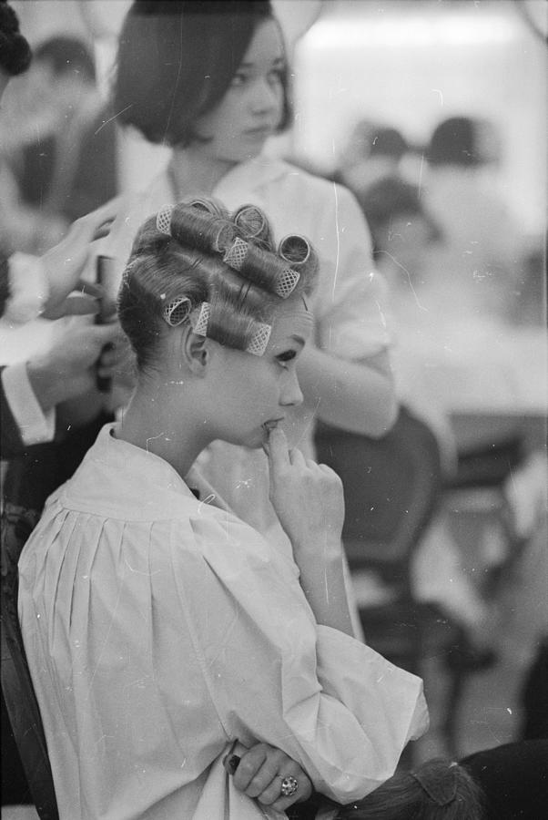 In Curlers Photograph by Ronald Dumont