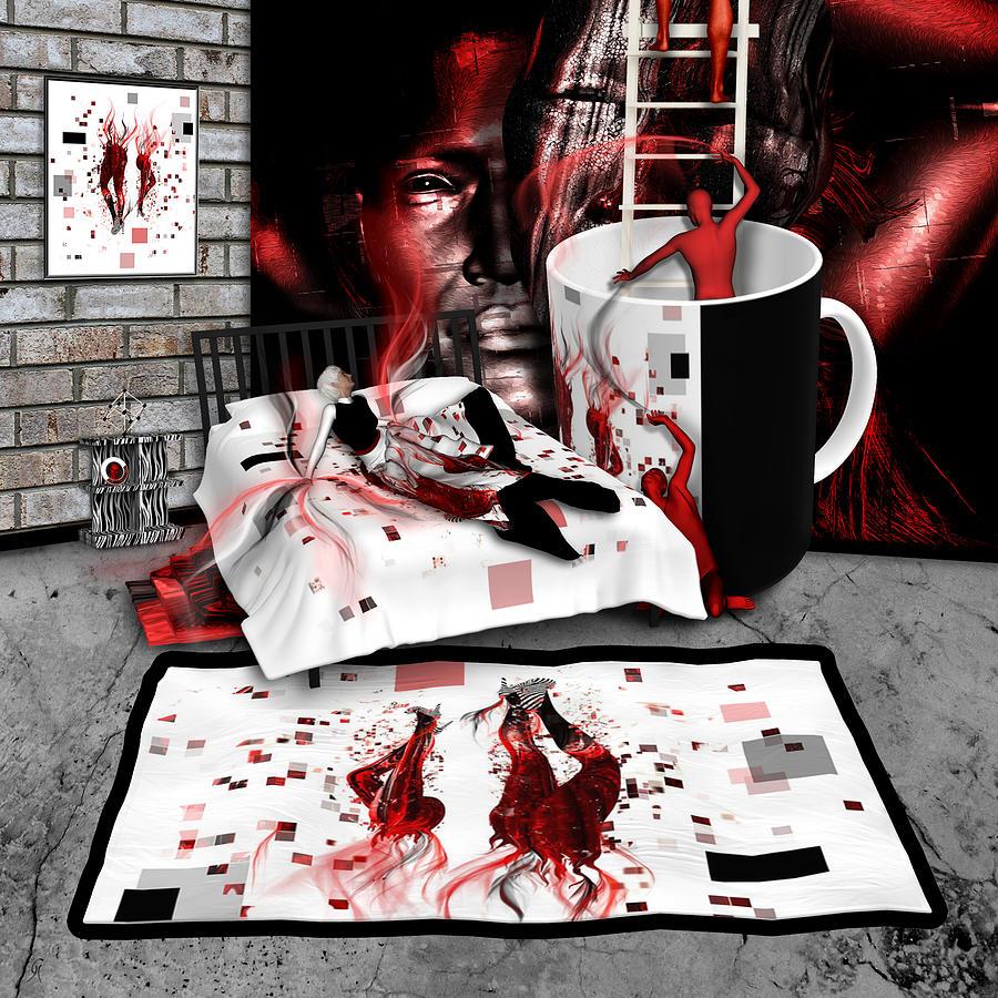 In Flagrante Delicto Digital Art - In Flagrante Delicto by Carmen Hathaway