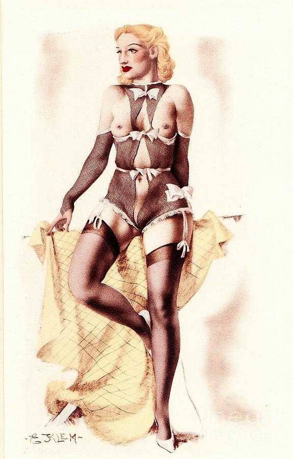In Lingerie by E Klem