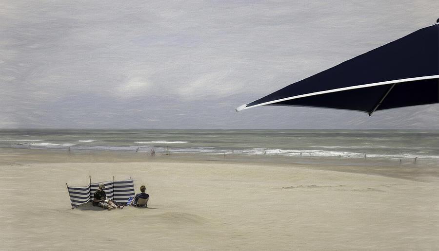 Beach Photograph - In Quarantine On The Beach... by Gilbert Claes