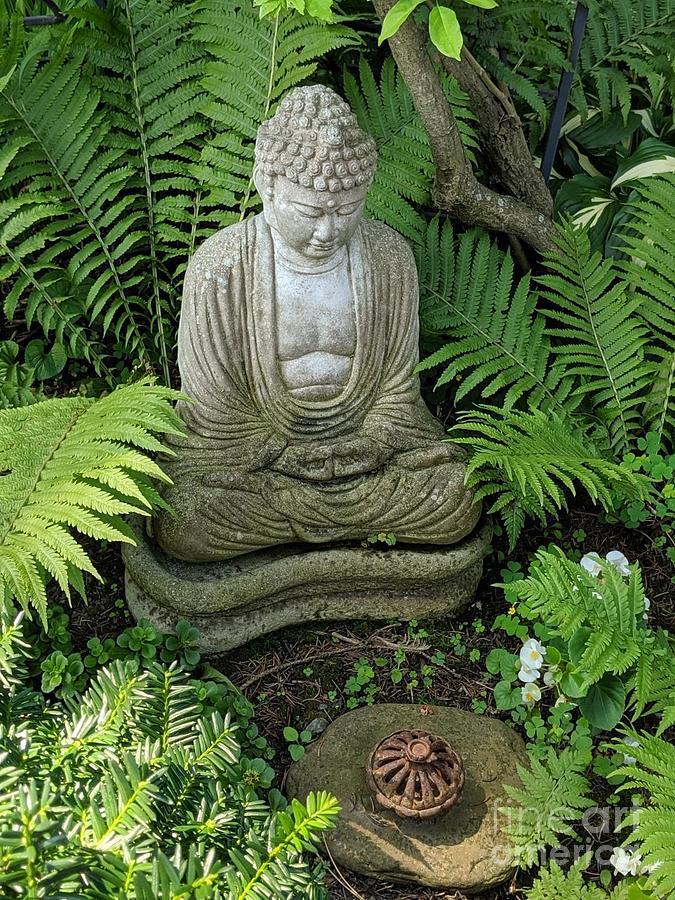 In Rob's Garden by Jodie Marie Anne Richardson Traugott          aka jm-ART
