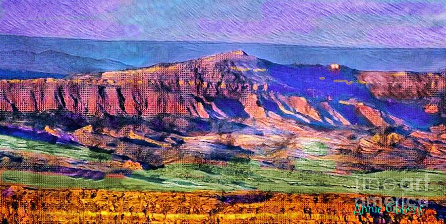 Grey Blue Digital Art - In The Basin by Annie Gibbons