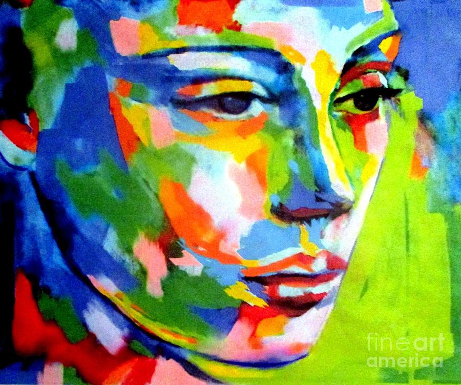 In the depths of her eyes by Helena Wierzbicki
