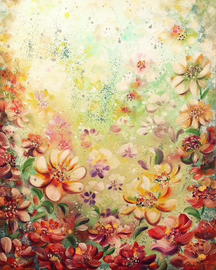 In the Garden by Gina De Gorna