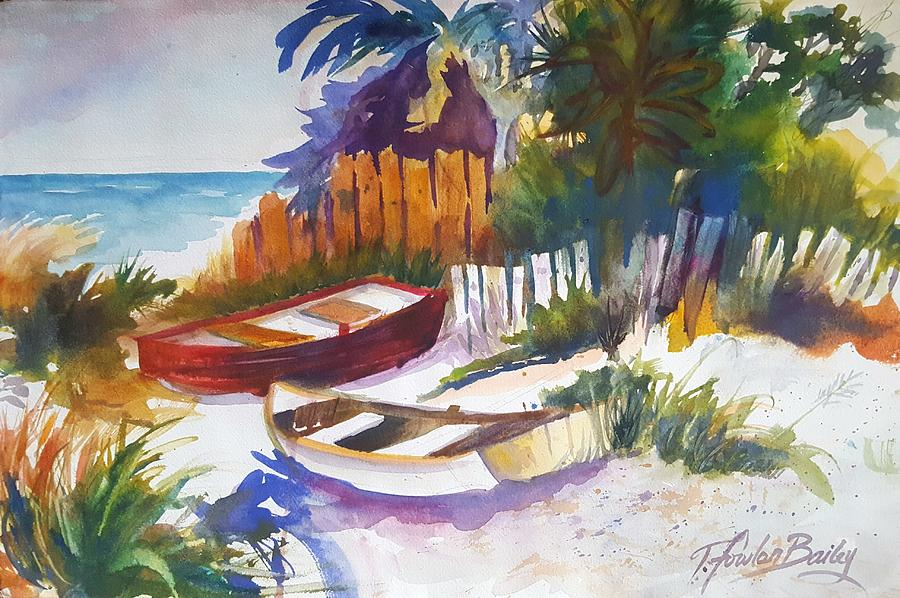Florida Painting - In The Keys by Therese Fowler-Bailey