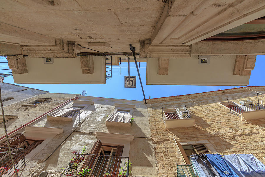 In The Little Streets Of Bari Photograph