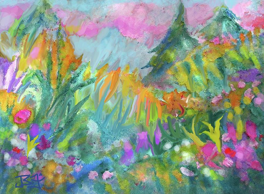In the meadow by Jean Batzell Fitzgerald