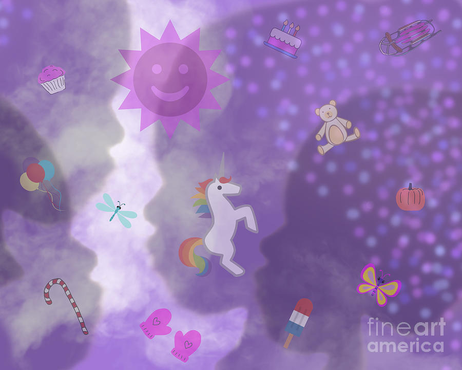 In The Mind Of A Child by Diamante Lavendar