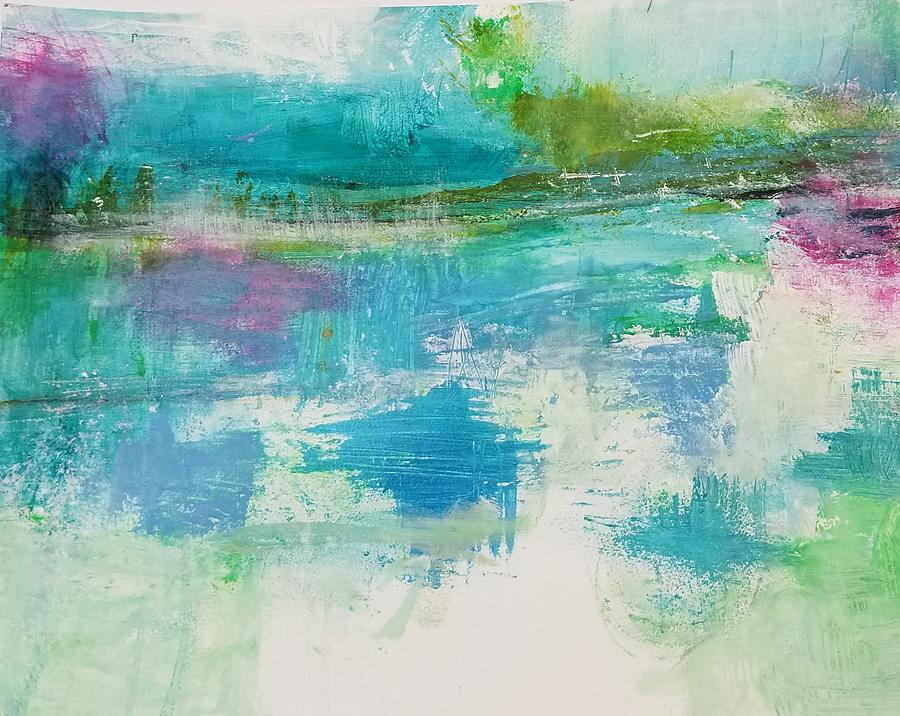 Abstract Painting - In the Now by Patricia Byron