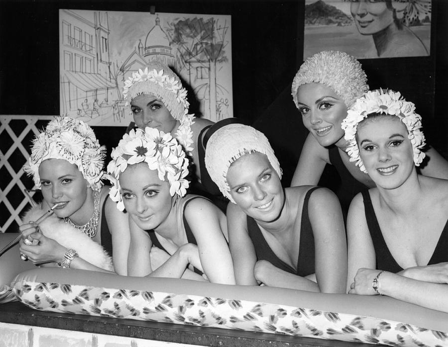 In The Swim 1966 Photograph by Reg Speller