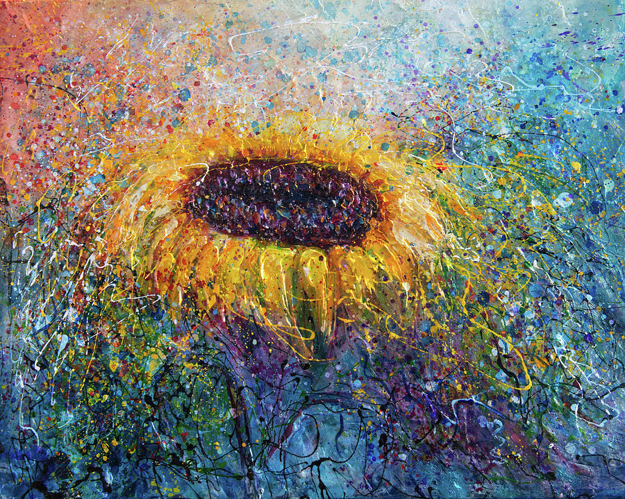 In the Swirls of Sunshine  by OLena Art by OLena Art Brand