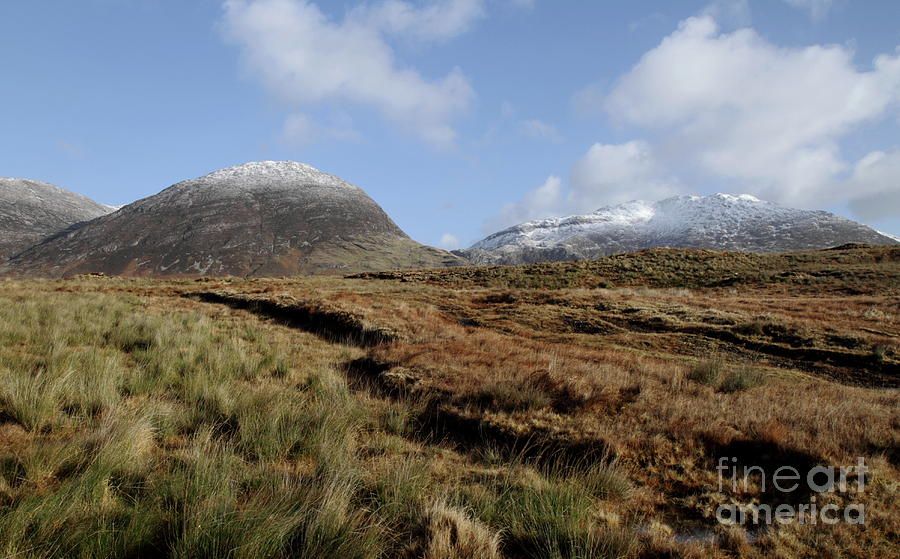 Inagh valley Connemara by Peter Skelton