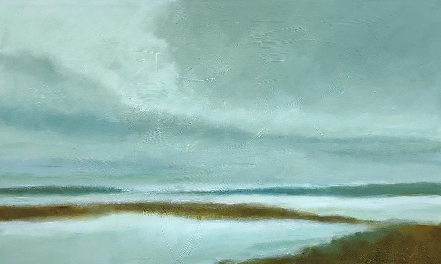 Seascape Painting - Incoming Tide by Filomena Booth
