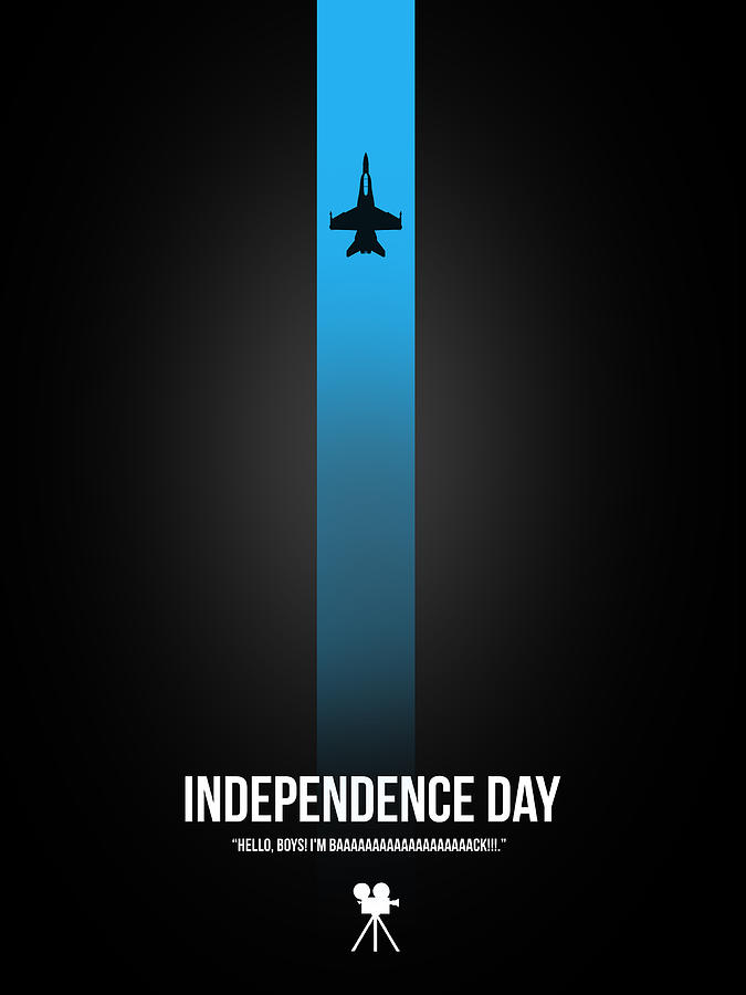 Independence Day Digital Art - Independence Day by Naxart Studio