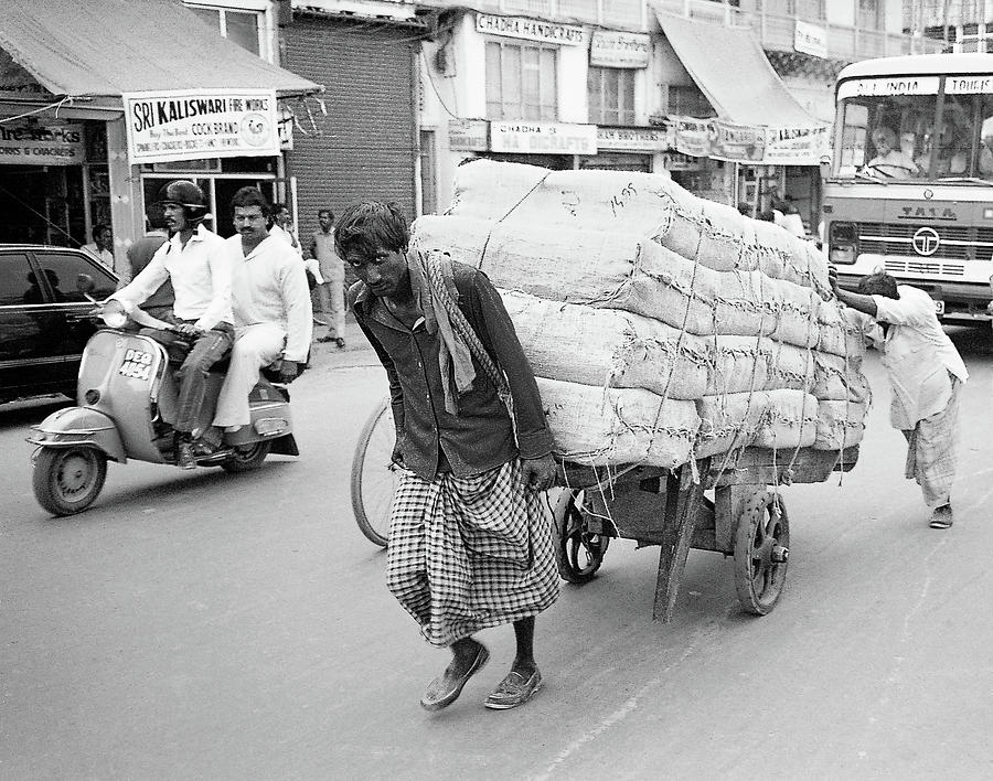 India 1986 by Pete Hendley