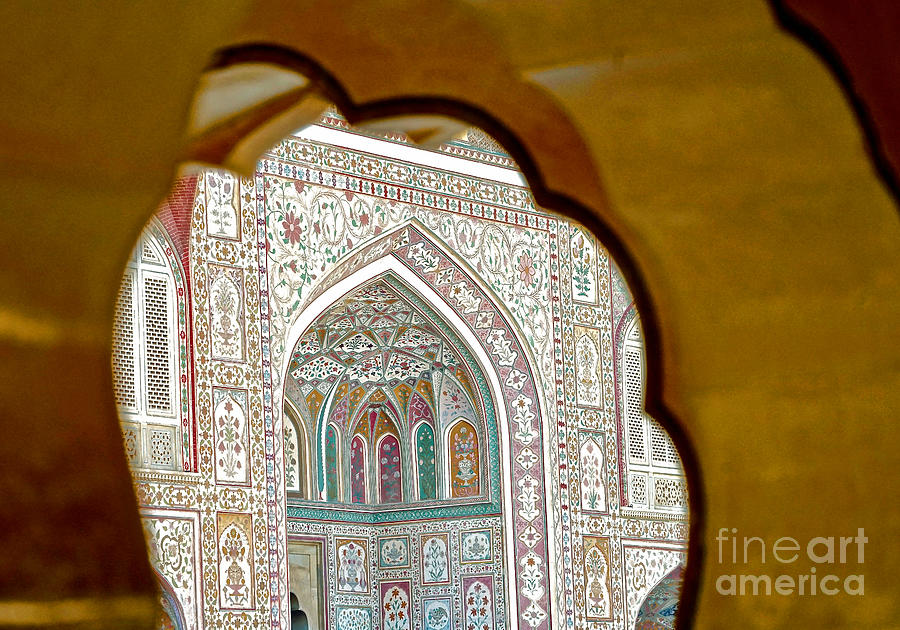 India Arches at the Taj by Michael Cinnamond