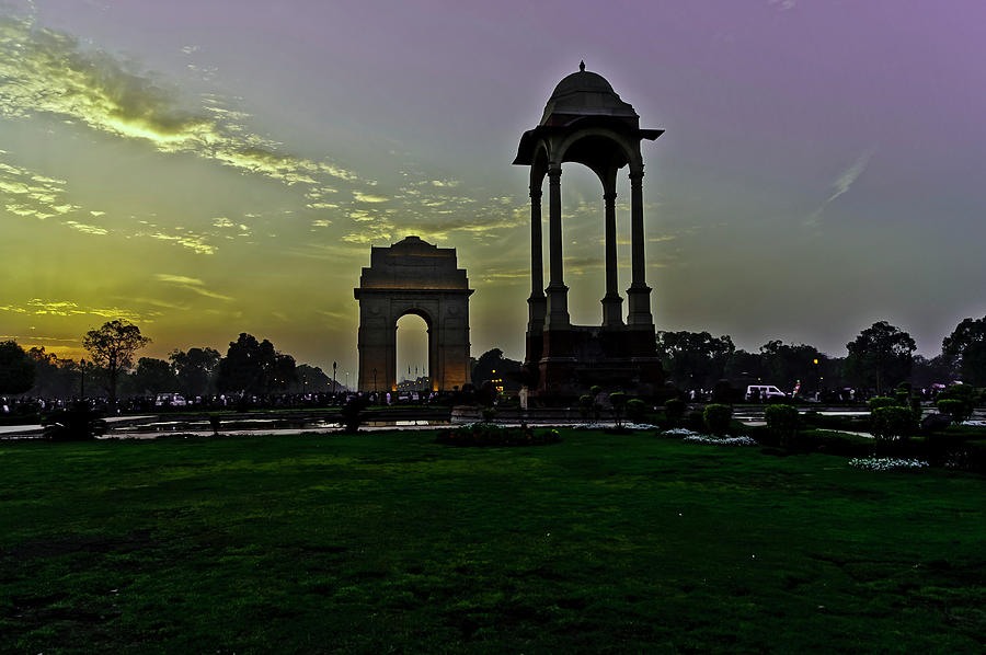 India Gate Photograph by Copyright Antony Grossy