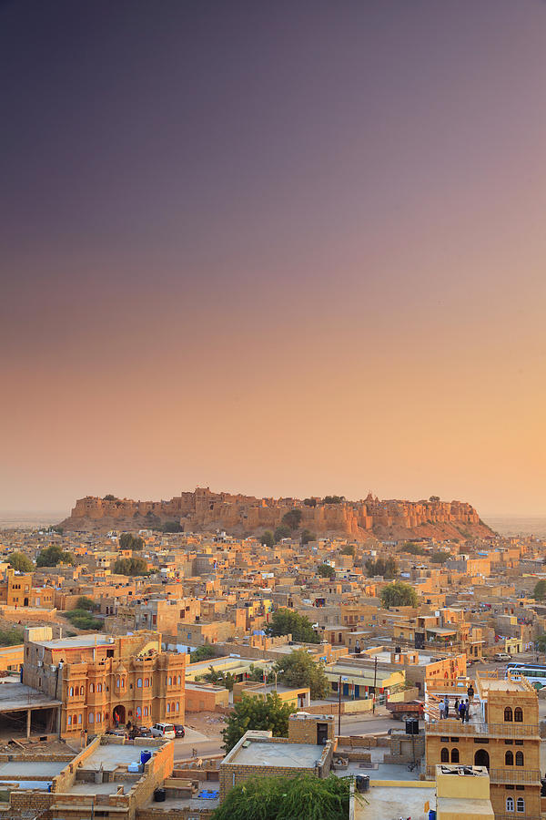 India, Jaisalmer Old Town Photograph by Michele Falzone