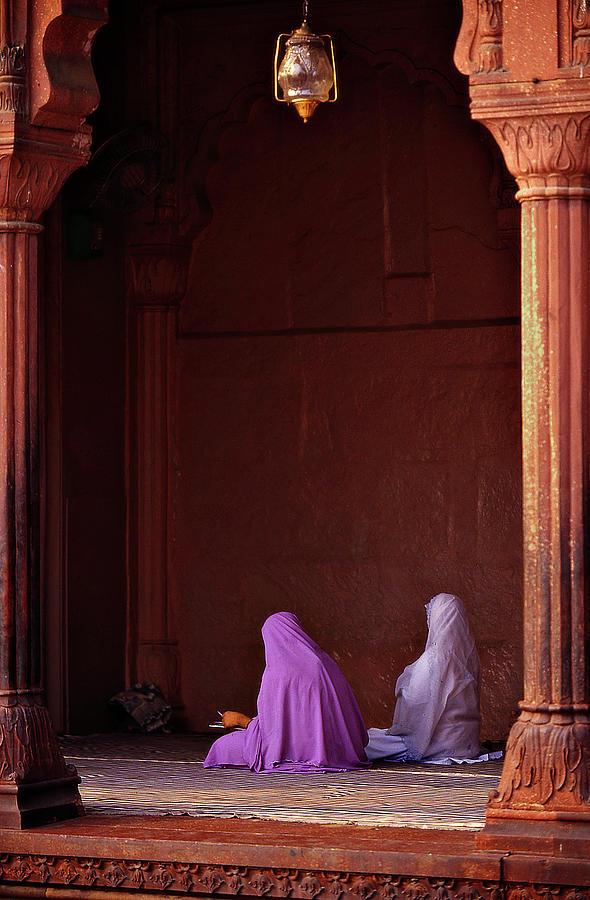 India - Jama Masjid Mosque Photograph by Sergio Pessolano