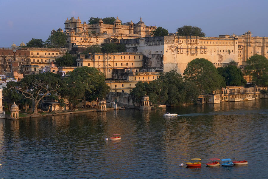 India, Rajasthan, Udaipur, City Palace Photograph by Keren Su