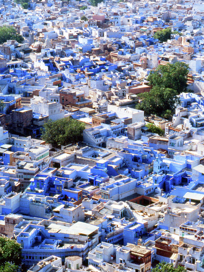 India Rajasthan Udaipur Wiew Photograph by (c)paolodelpapa