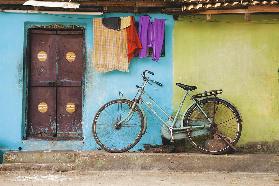 Indian Bicycle by Maria Heyens