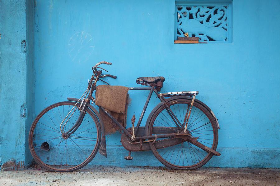 Indian Bike by Maria Heyens