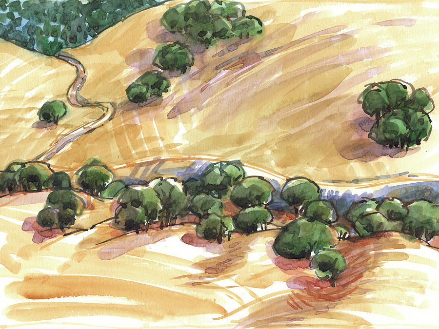 Indian Creek Valley from Shell Ridge by Judith Kunzle