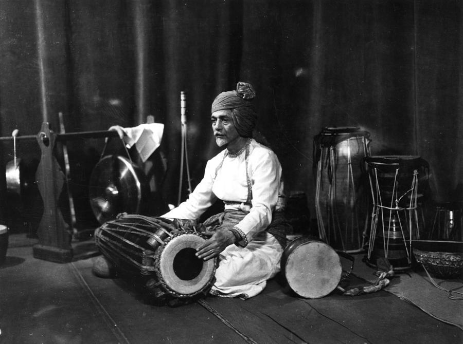 Indian Drummer Photograph by Sasha