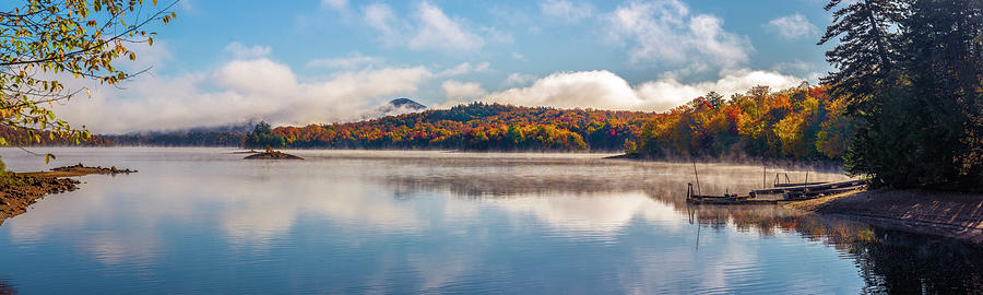 Indian Lake NY by Mark Papke