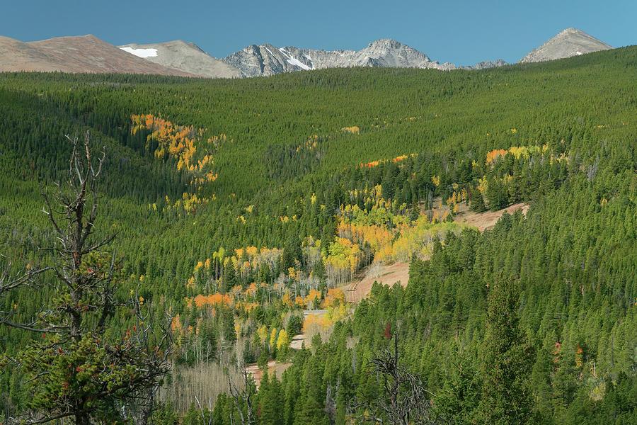 Indian Peaks Autumn Landscape View Photograph